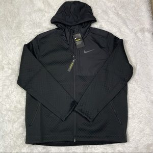 New Nike Therma Fill-Zip Hooded Training Jacket